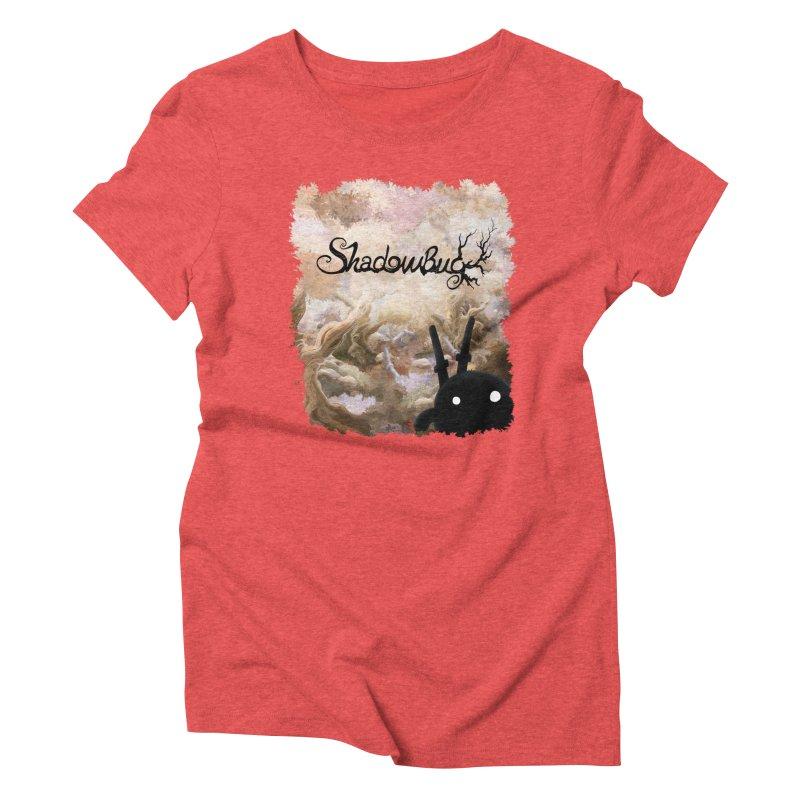 Shadow Bug Women's Triblend T-Shirt by Muro Studios Shop