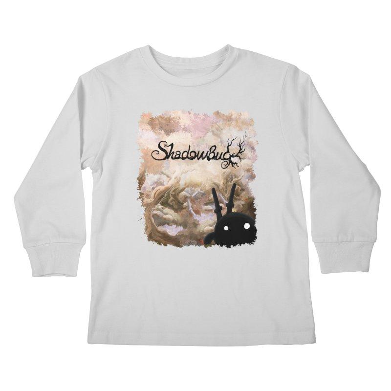 Shadow Bug Kids Longsleeve T-Shirt by Muro Studios Shop
