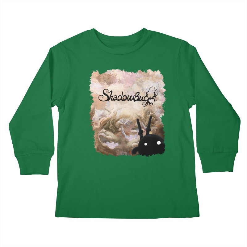 Shadow Bug Kids Longsleeve T-Shirt by Muro Studios Shop