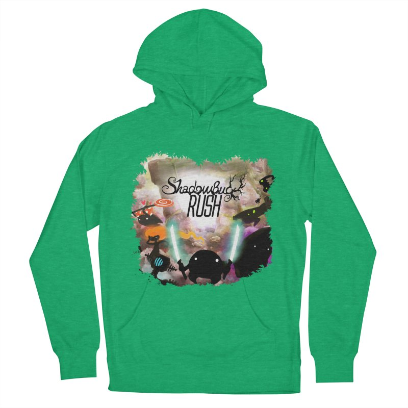 Shadow Bug Rush Women's French Terry Pullover Hoody by Muro Studios Shop