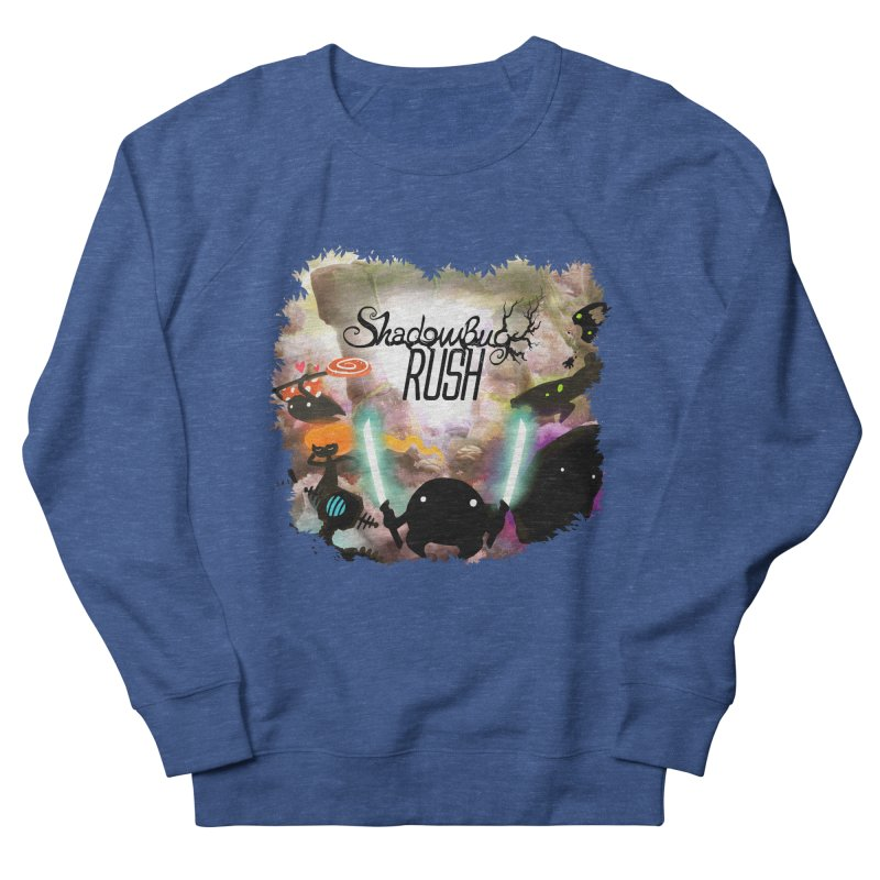 Shadow Bug Rush Women's French Terry Sweatshirt by Muro Studios Shop