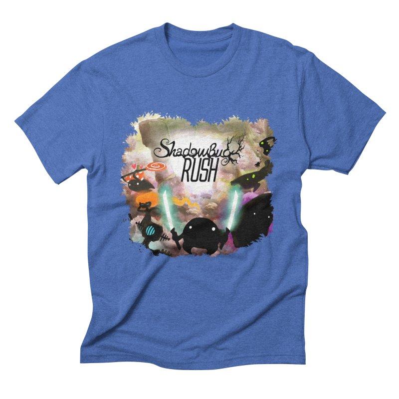 Shadow Bug Rush Men's Triblend T-Shirt by Muro Studios Shop