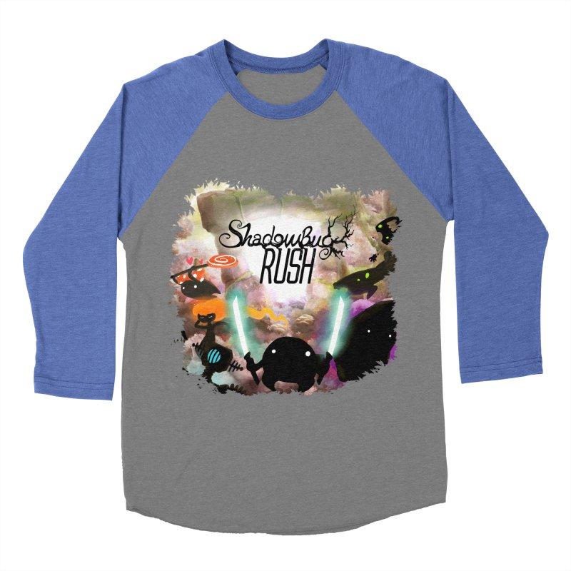 Shadow Bug Rush Women's Baseball Triblend Longsleeve T-Shirt by Muro Studios Shop