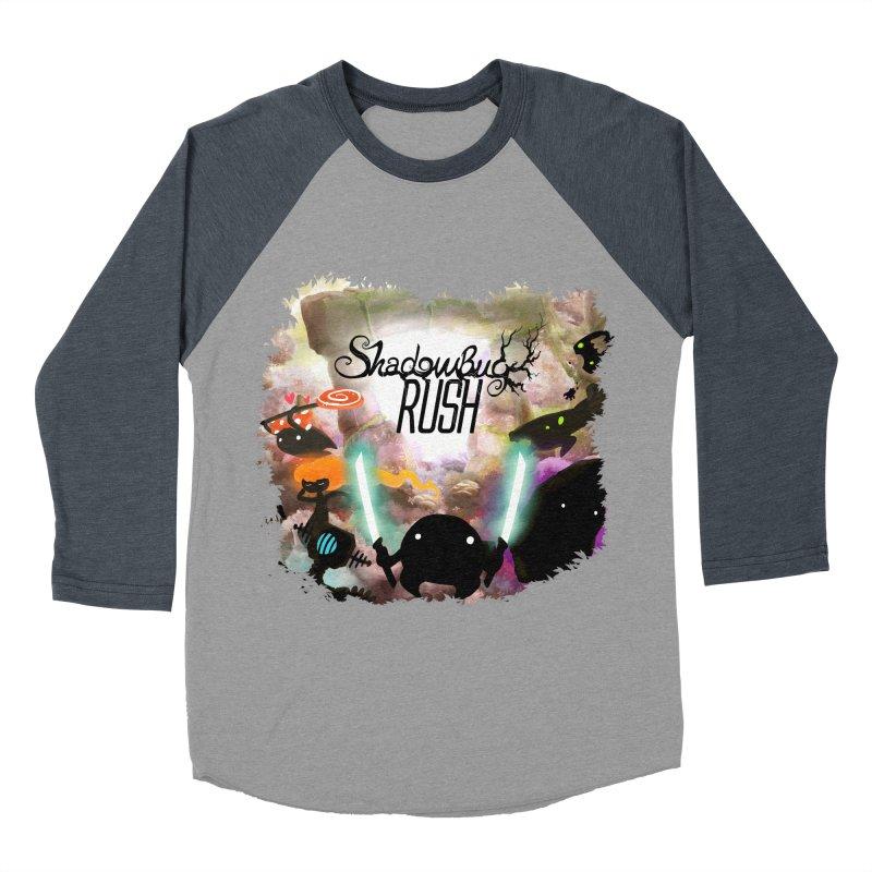 Shadow Bug Rush Men's Baseball Triblend Longsleeve T-Shirt by Muro Studios Shop