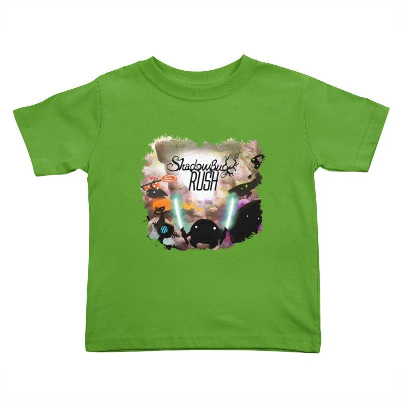 Shadow Bug Rush Kids Toddler T-Shirt by Muro Studios Shop