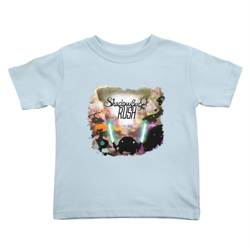 Shadow Bug Rush Kids Toddler T-Shirt by Muro Studios Shop