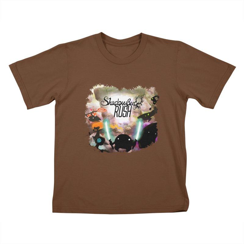 Shadow Bug Rush Kids T-Shirt by Muro Studios Shop