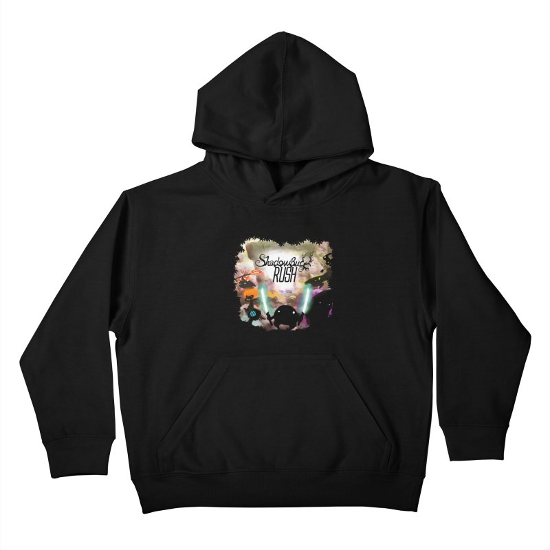 Shadow Bug Rush Kids Pullover Hoody by Muro Studios Shop