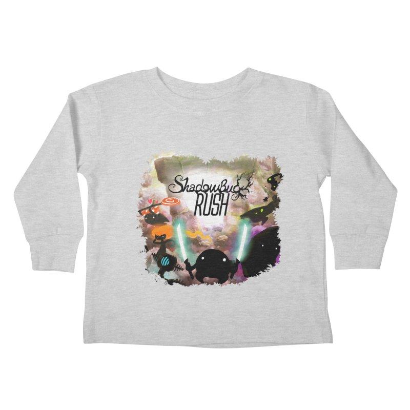 Shadow Bug Rush Kids Toddler Longsleeve T-Shirt by Muro Studios Shop