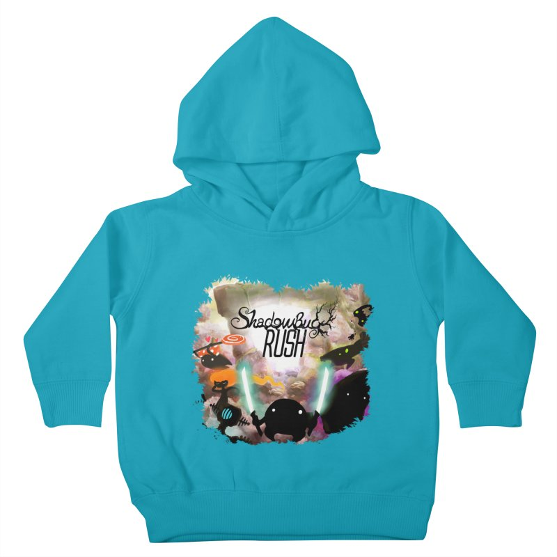 Shadow Bug Rush Kids Toddler Pullover Hoody by Muro Studios Shop