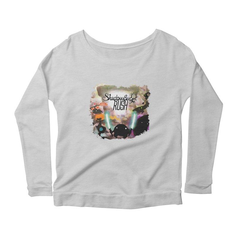 Shadow Bug Rush Women's Scoop Neck Longsleeve T-Shirt by Muro Studios Shop