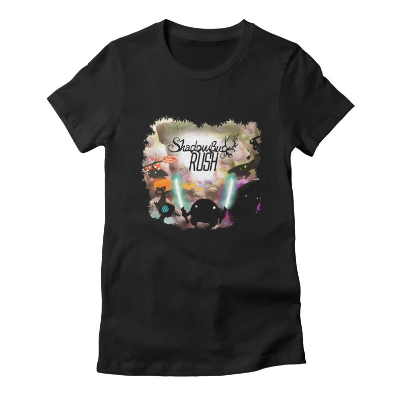 Shadow Bug Rush Women's Fitted T-Shirt by Muro Studios Shop