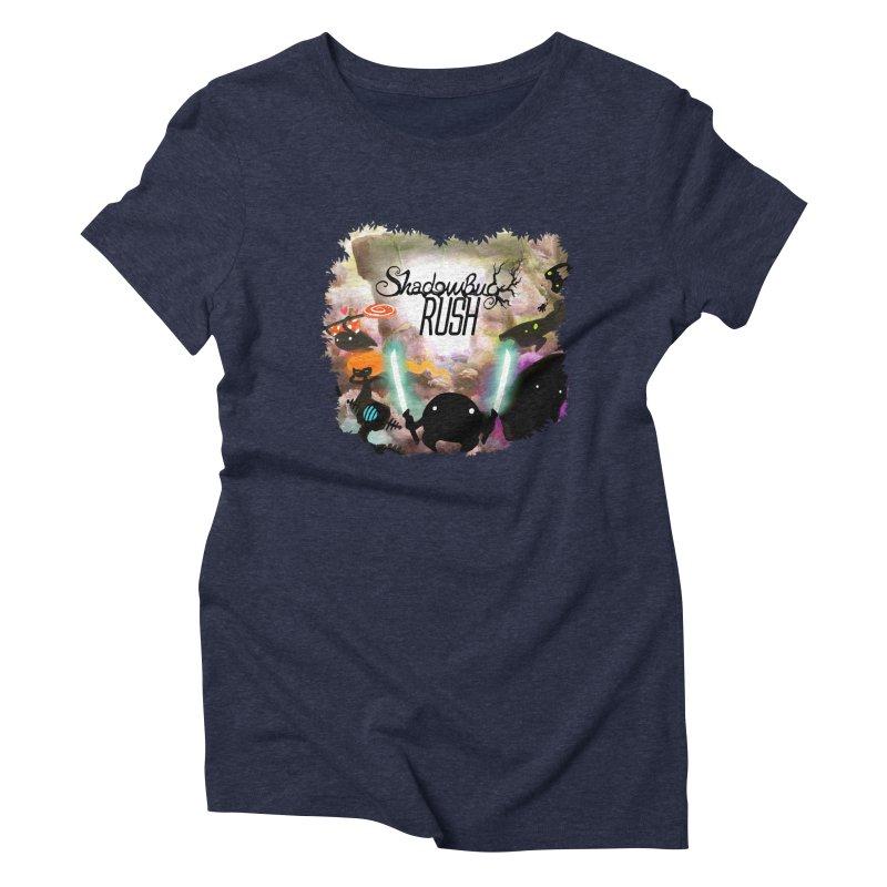Shadow Bug Rush Women's Triblend T-Shirt by Muro Studios Shop