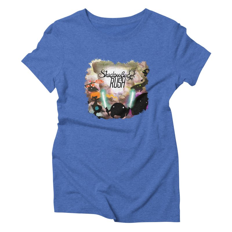 Shadow Bug Rush Women's Triblend T-Shirt by Muro Studios Shop