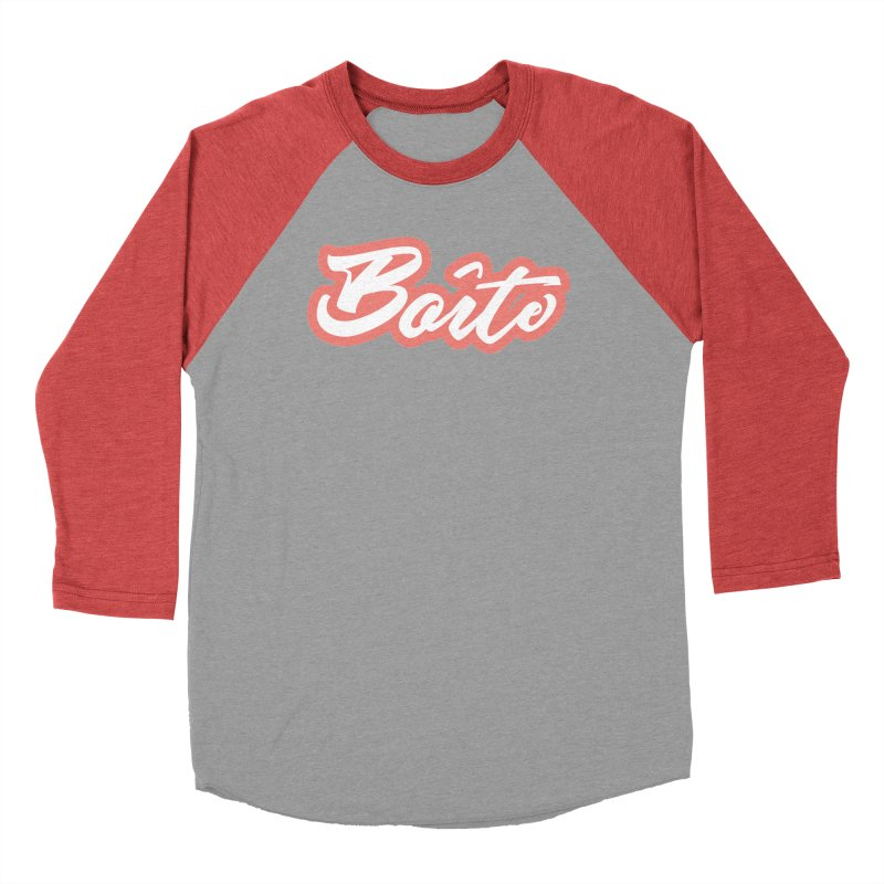 Boîte - RED Women's Baseball Triblend Longsleeve T-Shirt by Murphed