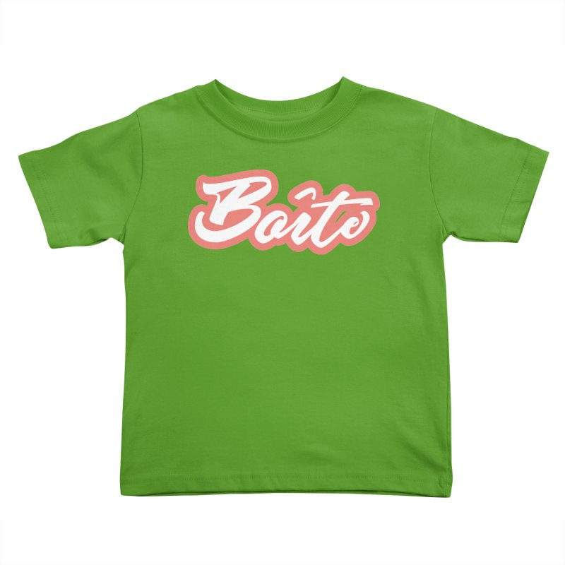 Boîte - RED Kids Toddler T-Shirt by Murphed