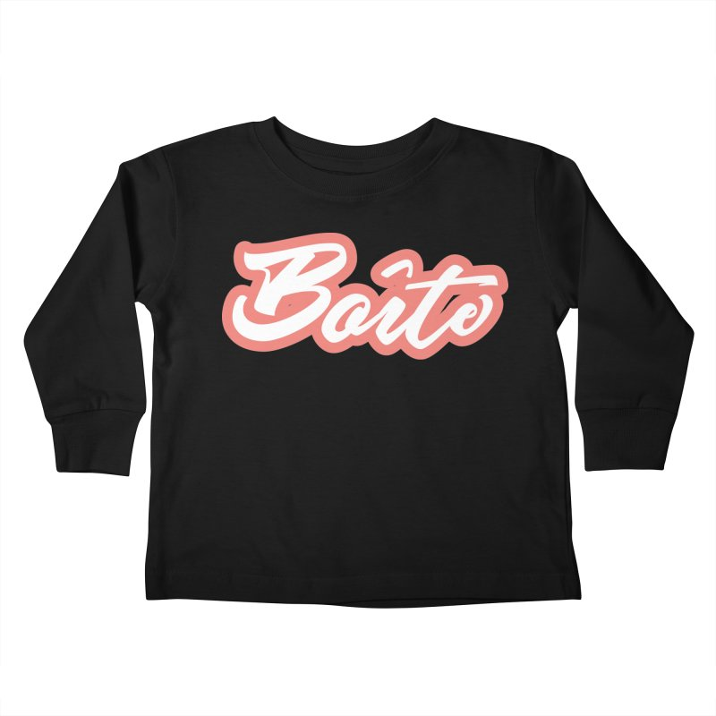 Boîte - RED Kids Toddler Longsleeve T-Shirt by Murphed