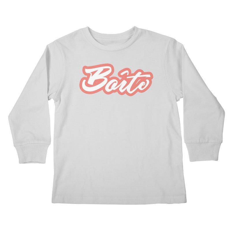 Boîte - RED Kids Longsleeve T-Shirt by Murphed