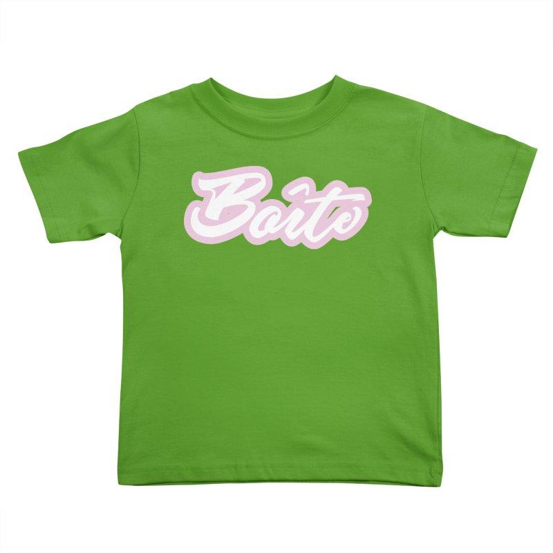 Boîte - PINK Kids Toddler T-Shirt by Murphed