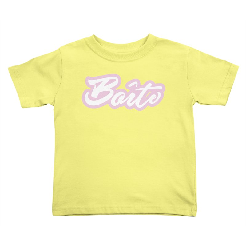 Boîte - PINK Kids Toddler T-Shirt by Murphed