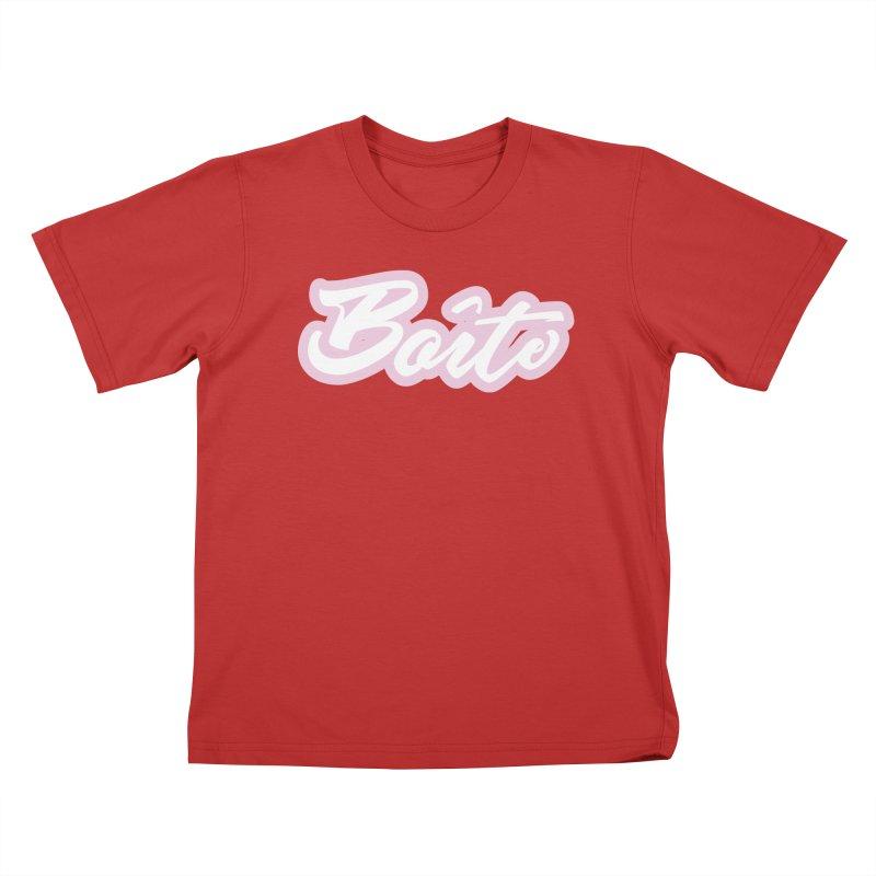 Boîte - PINK Kids T-Shirt by Murphed