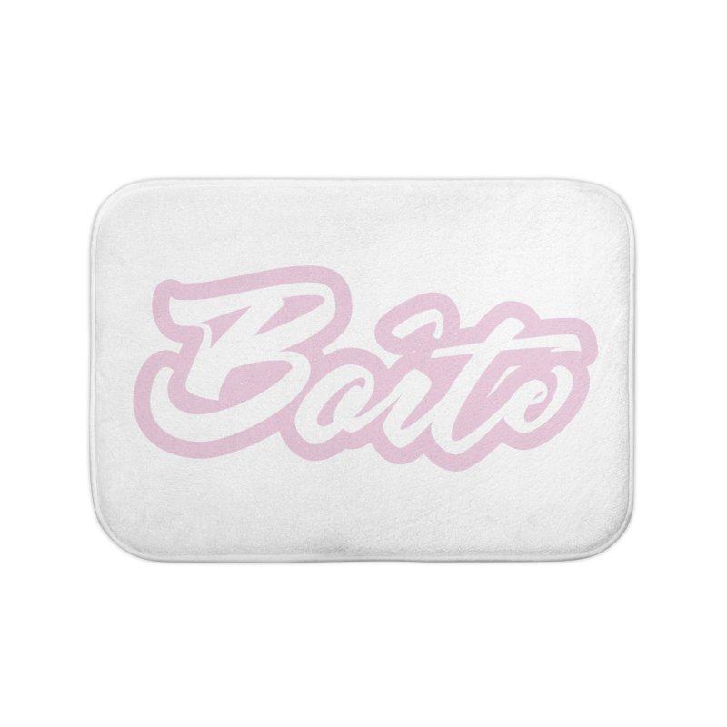 Boîte - PINK Home Bath Mat by Murphed