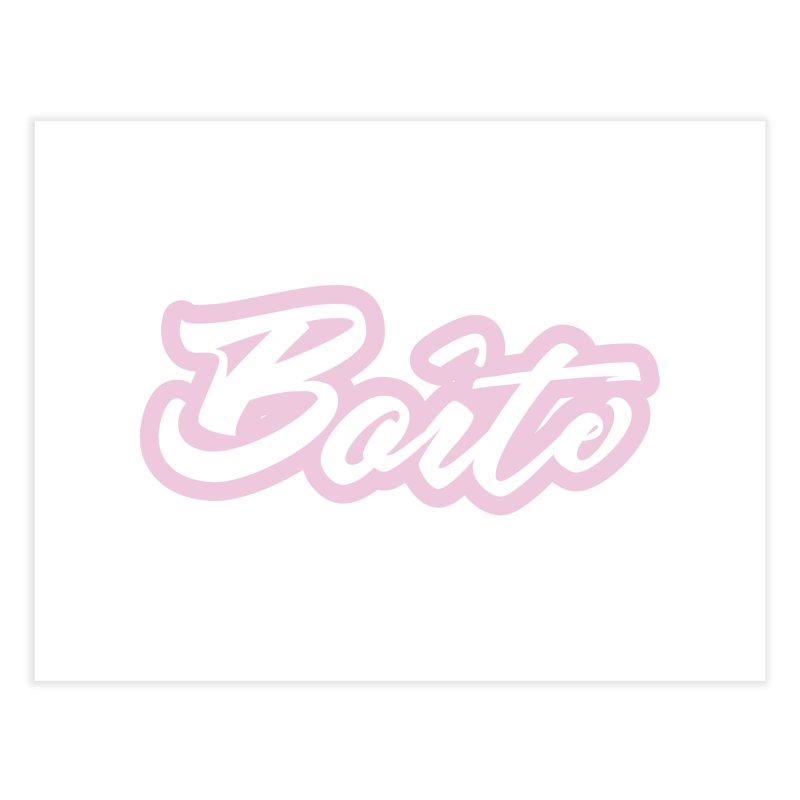 Boîte - PINK Home Fine Art Print by Murphed