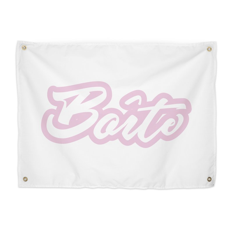 Boîte - PINK Home Tapestry by Murphed