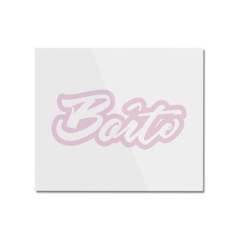 Boîte - PINK Home Mounted Acrylic Print by Murphed