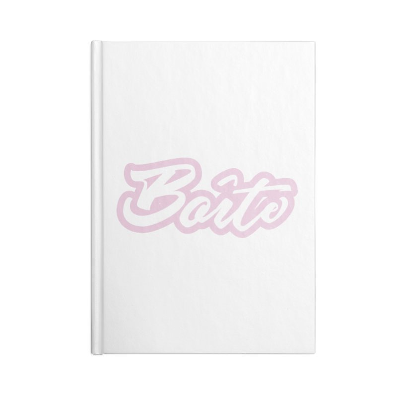Boîte - PINK Accessories Lined Journal Notebook by Murphed