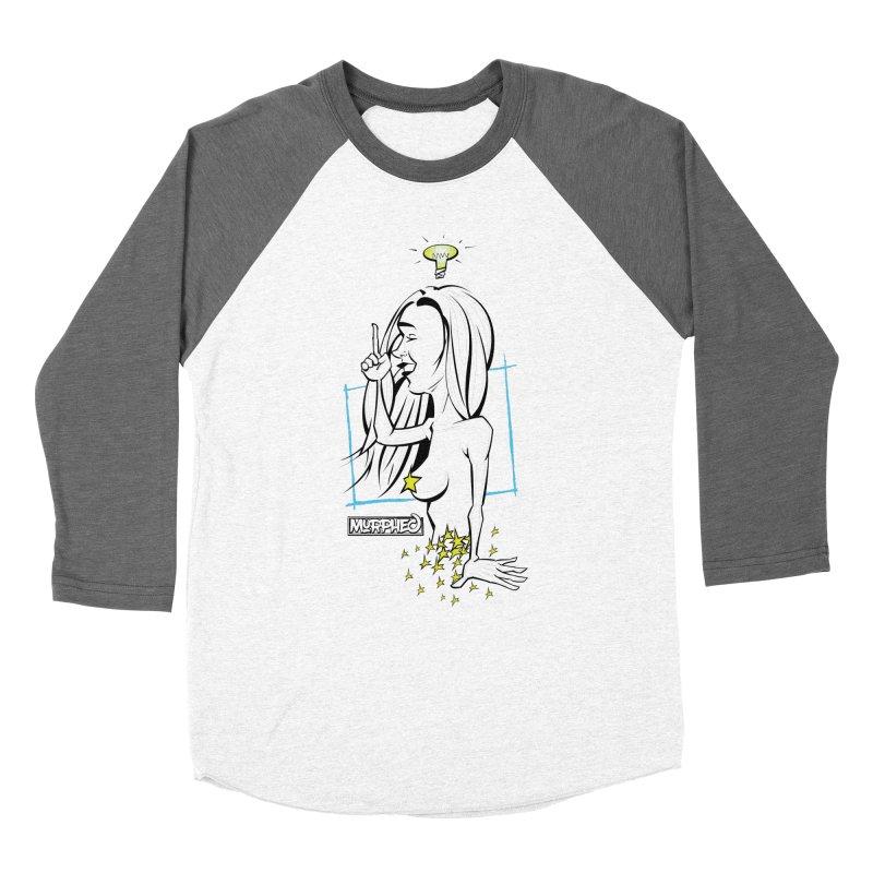 Bulbous Men's Baseball Triblend Longsleeve T-Shirt by Murphed