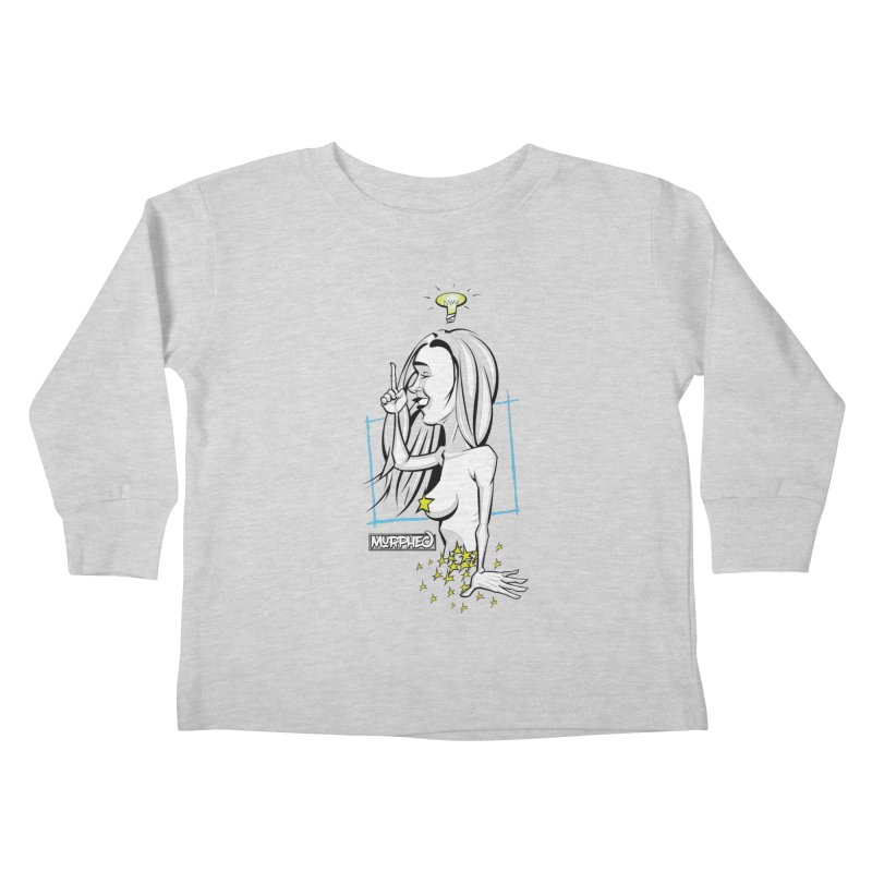 Bulbous Kids Toddler Longsleeve T-Shirt by Murphed