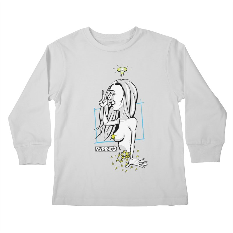 Bulbous Kids Longsleeve T-Shirt by Murphed