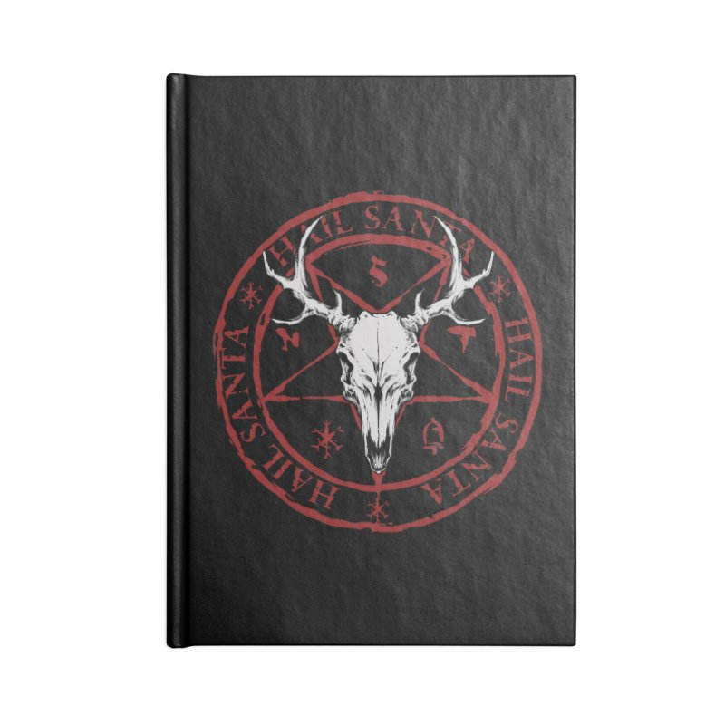 Hail Santa Accessories Notebook by THE DARK SIDE