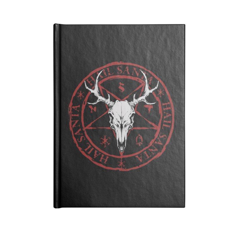 Hail Santa Accessories Notebook by THE DARK SIDE