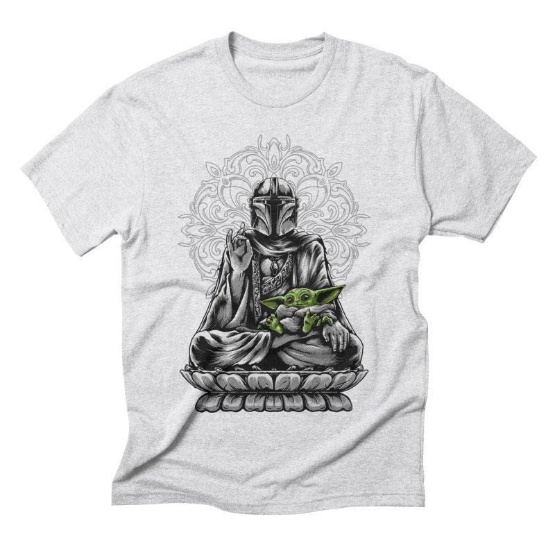 mando peace Men's T-Shirt by THE DARK SIDE