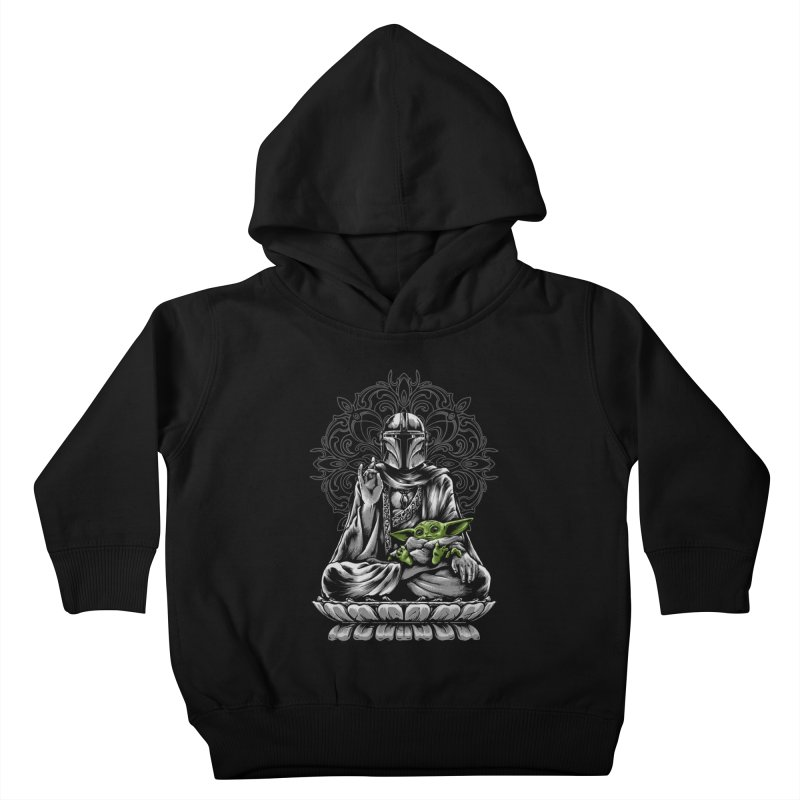 mando peace Kids Toddler Pullover Hoody by THE DARK SIDE