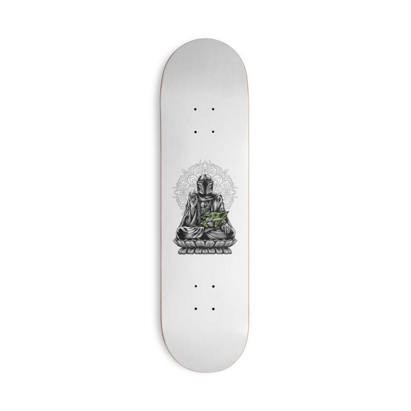 mando peace Accessories Skateboard by THE DARK SIDE