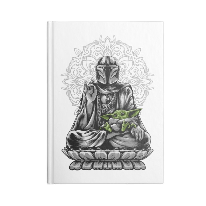 mando peace Accessories Notebook by THE DARK SIDE