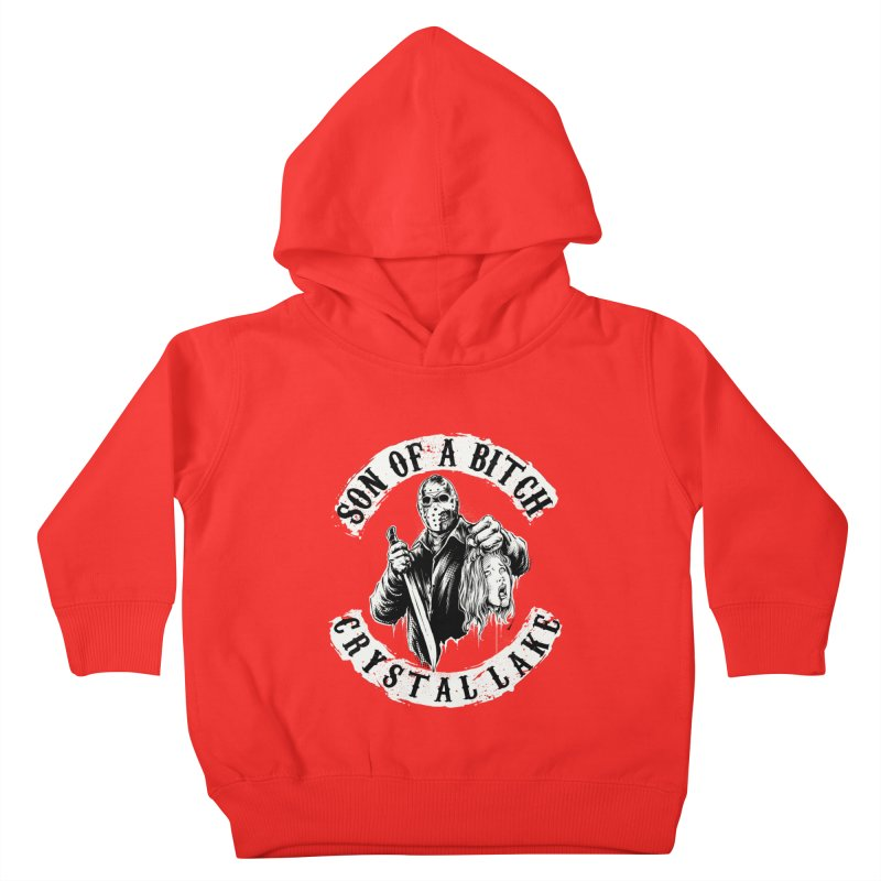 son of a bitch Kids Toddler Pullover Hoody by THE DARK SIDE