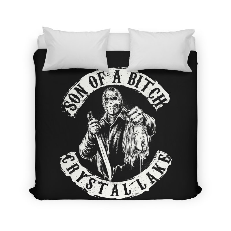 son of a bitch Home Duvet by THE DARK SIDE