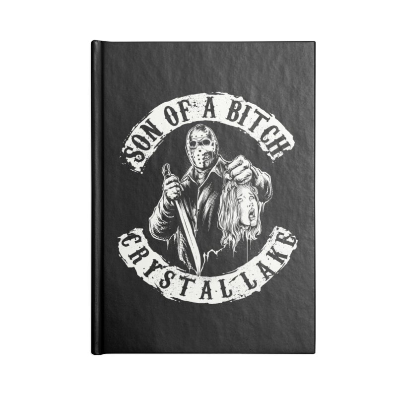 son of a bitch Accessories Notebook by THE DARK SIDE