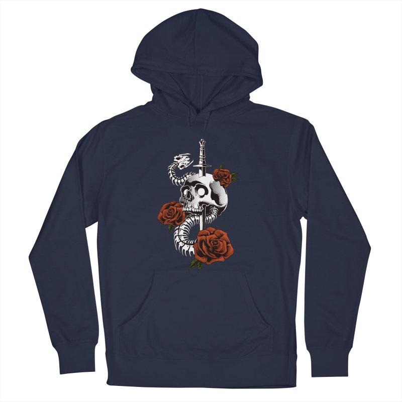 skull Men's Pullover Hoody by THE DARK SIDE