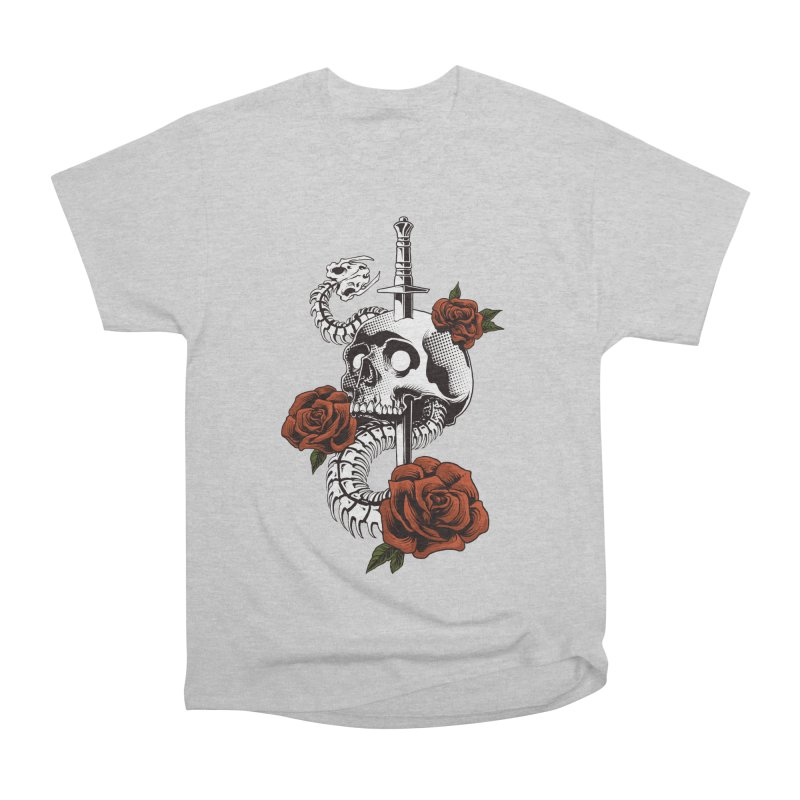 skull Men's T-Shirt by THE DARK SIDE