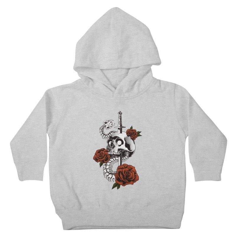 skull Kids Toddler Pullover Hoody by THE DARK SIDE