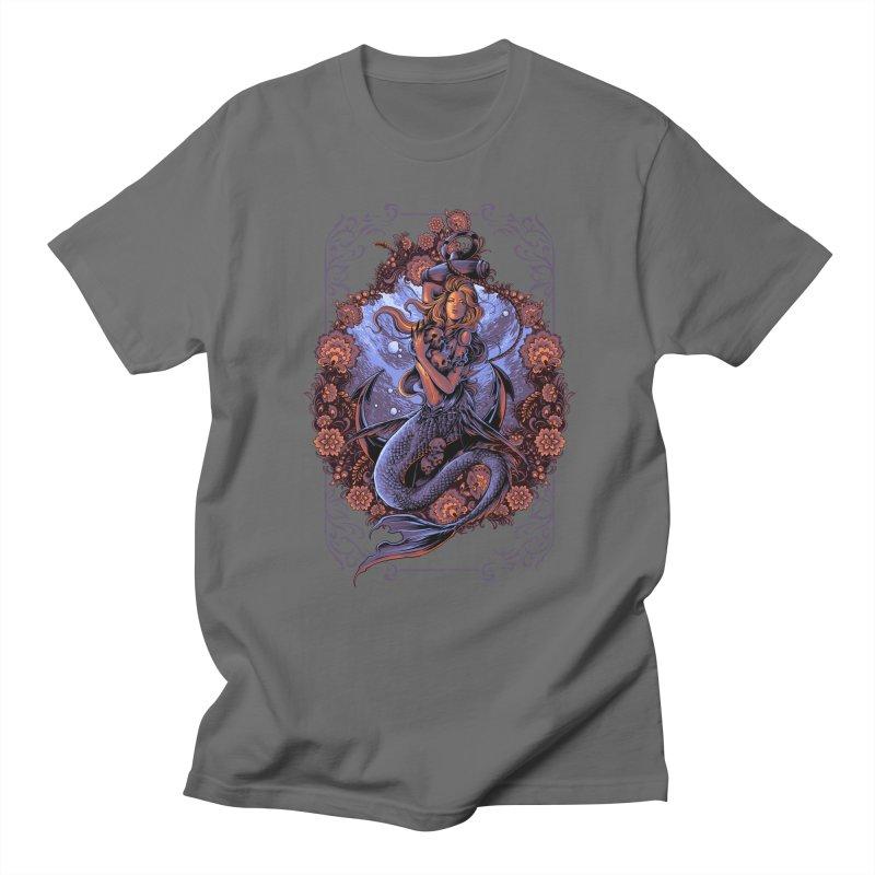 mermaid Men's T-Shirt by THE DARK SIDE