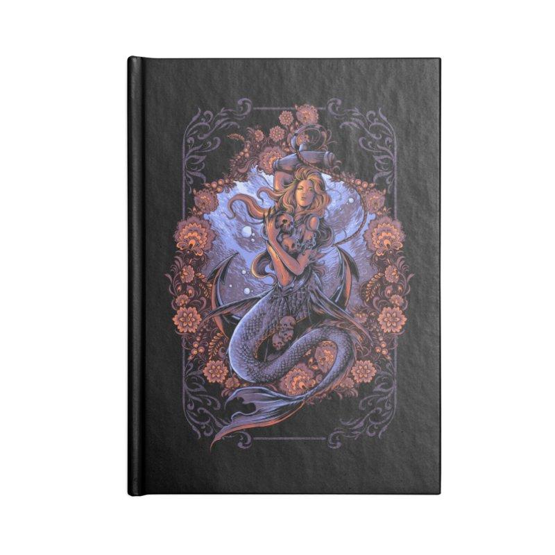 mermaid Accessories Notebook by THE DARK SIDE