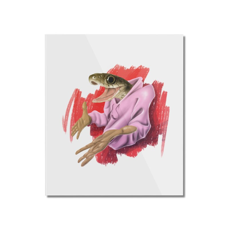 HAPPY ONE! Home Mounted Acrylic Print by mushroom's Artist Shop