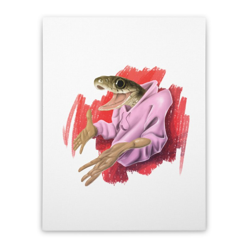 HAPPY ONE! Home Stretched Canvas by mushroom's Artist Shop