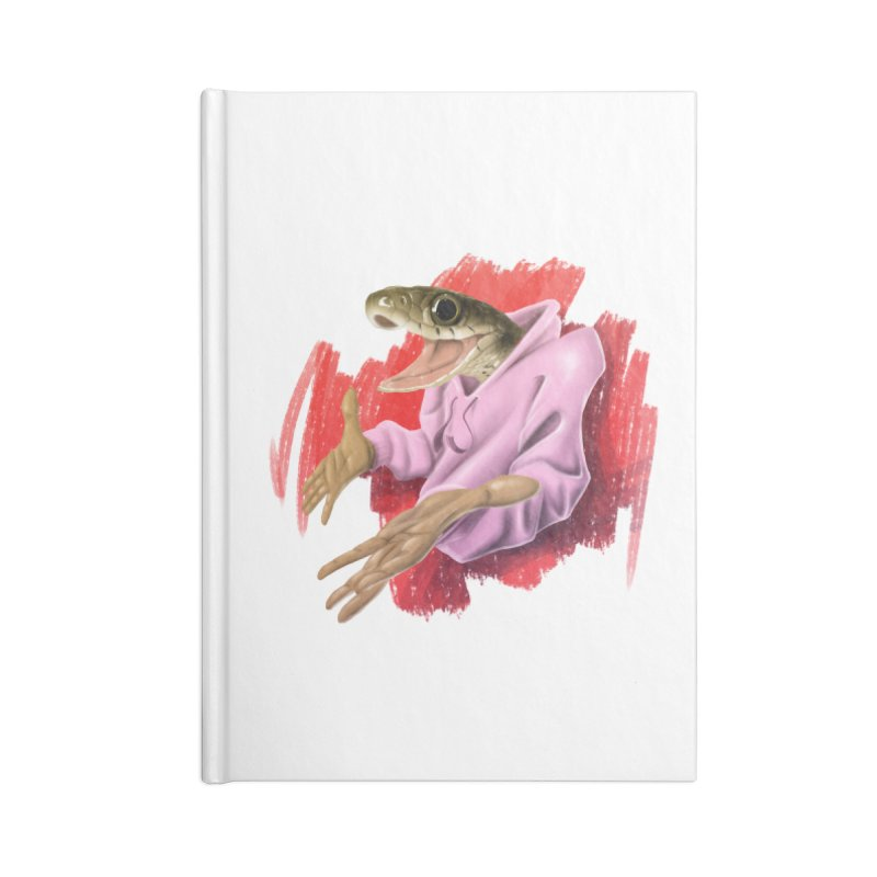 HAPPY ONE! Accessories Lined Journal Notebook by mushroom's Artist Shop